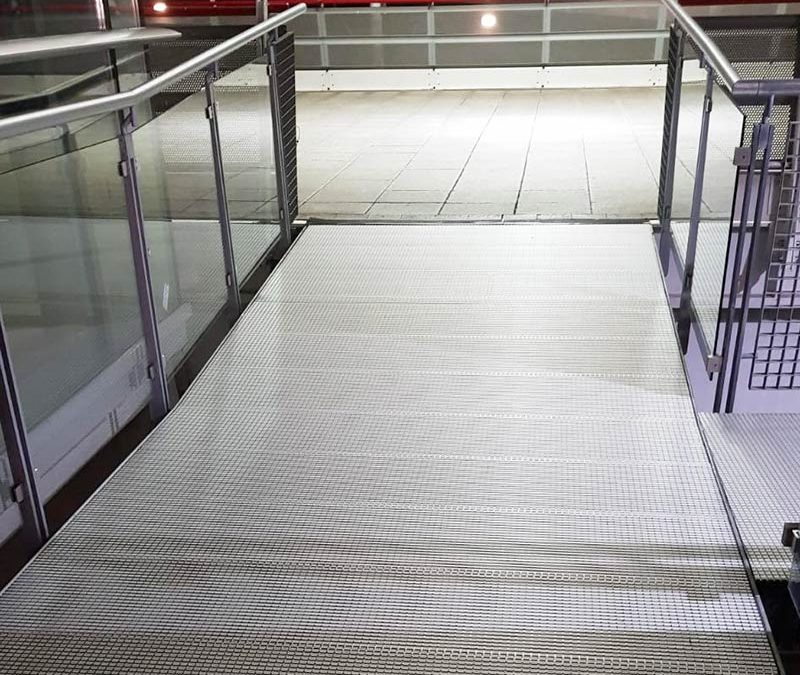 ExCel Aluminium Decking Walkway Refurbishment